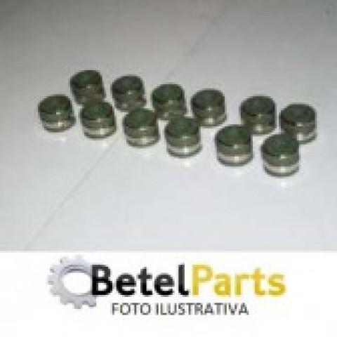 RETENTOR HASTE 7mm VALVULA SUZUKI VITARA 1.6 8v. 91/98   P/HASTE 6,5mm DO MOTOR DAIHATSU CHARADE 1.3/1.6 16v. SOHC  /TERIOS 1.3 16v.  /HAFEI TOWNER 1.0 8v. 08/.. F10A  GUIA =12mm x H=9,6mm x F=6mm