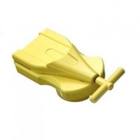 Lançador de cordinha Yellow (amarelo) Takara Tomy