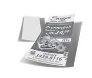 2500 PANFLETOS APERGAMINHADO 75G 1X0 97X207 (PAP31025)