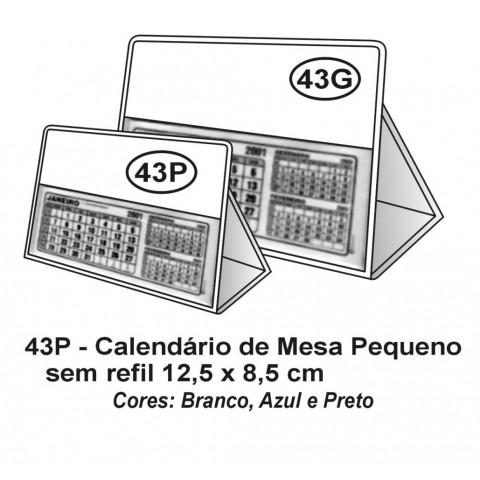 CALENDARIO DE MESA PVC PEQUENO 12,5X8,5 - SILKSCREEN (DMB43P)