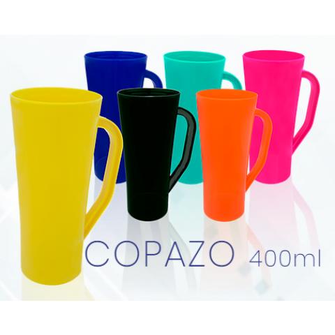 COPO COPAZO 400ML COLORIDA LEITOSA - SILKSCREEN (ACB088CLS)