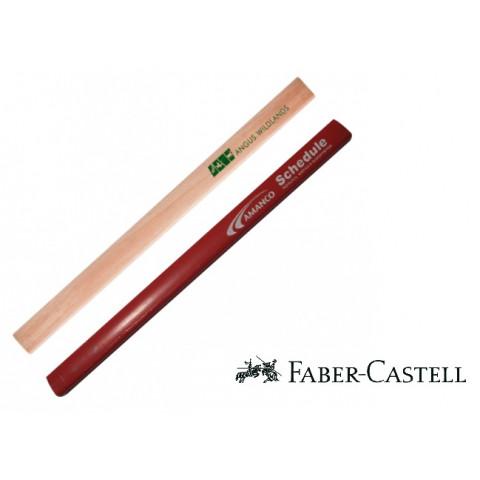 LÁPIS CARPINTEIRO FABER CASTEL - SILKSCREEN  (DMB25FC)