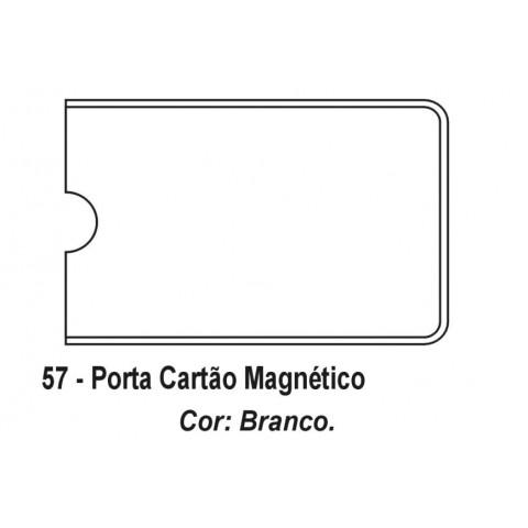 PORTA CARTÃO MAGNETICO EM PVC - SILKSCREEN (DMB57)