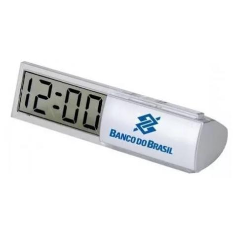 RELÓGIO LCD DE MESA - PERSONALIZAÇÃO EM TAMPOGRAFIA (X264)