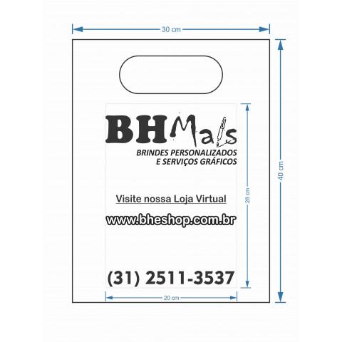 SACOLA PLASTICA BOCA DE PALHAÇO 30X40 - 0,12 (EMB COM 100 UNIDADES) - SILKCREEN (MAP3040)