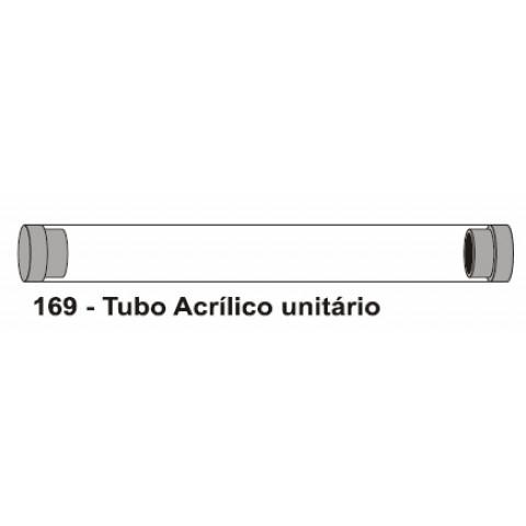 TUBO ACRÍLICO PARA CANETA - UNITÁRIO (DMB169)
