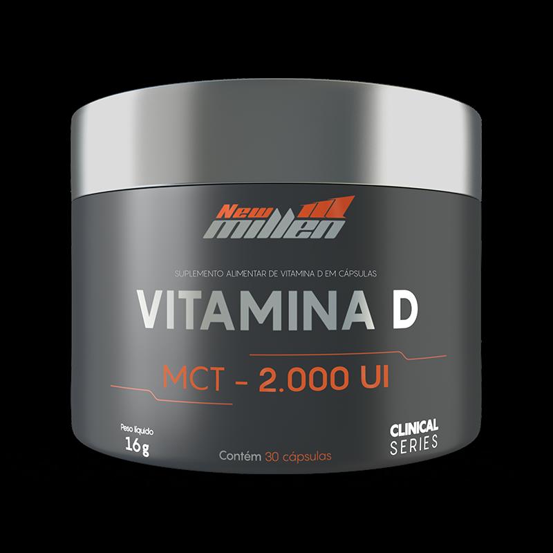Vitamina D - 30 cápsulas - NEW MILLEN
