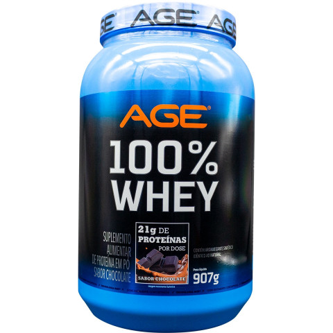 Whey 100% - 907gr - Nutrilatina AGE