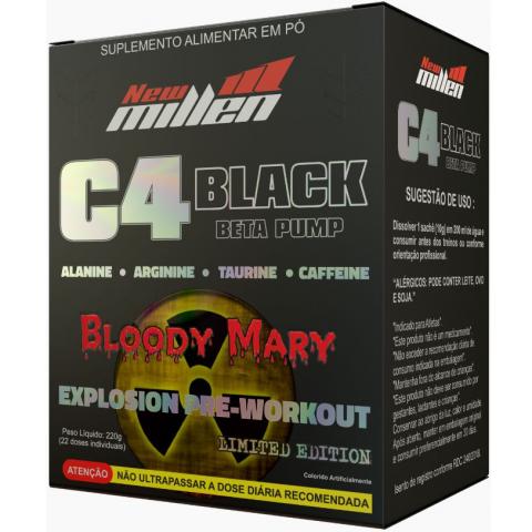 C4 Black Explosion - 22 Doses - New Millen