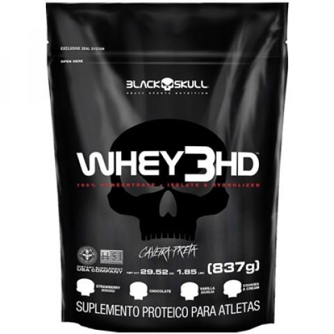 Whey 3HD - 837gr - BLACK SKULL