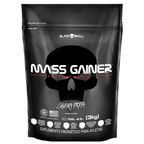 Mass Gainer - 3kg - BLACK SKULL