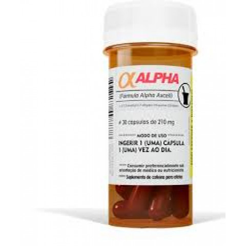 Cafeína Alpha Excell- 30 Cáps - POWER SUPPLEMENTS