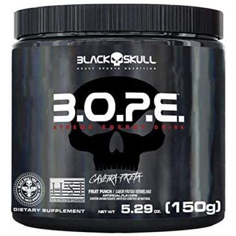 Pré Treino B.O.P.E - 150gr - BLACK SKULL