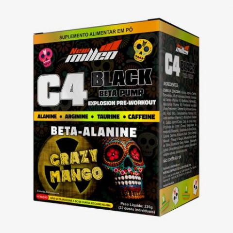 C4 Black Crazy Mango - 22 Doses - NEW MILLEN