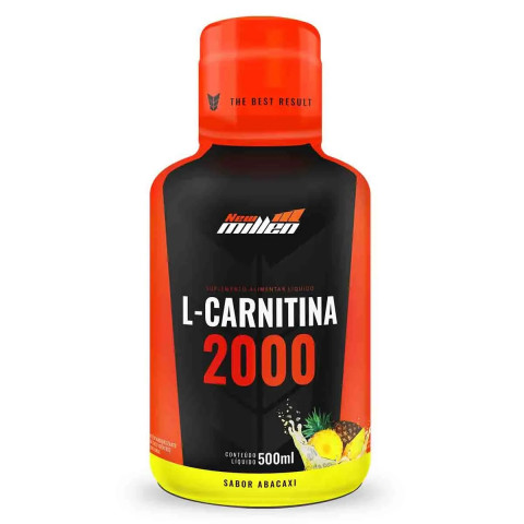 L-Carnitina 2000mg - 500ml - NEW MILLEN