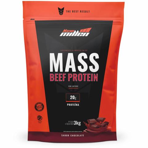 Mass Beef Protein Refil - 3 kg - NEW MILLEN