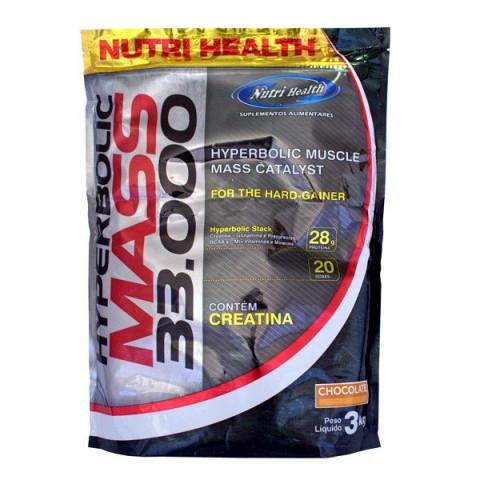Mass 33.000 - 3kg - NUTRI HEALTH