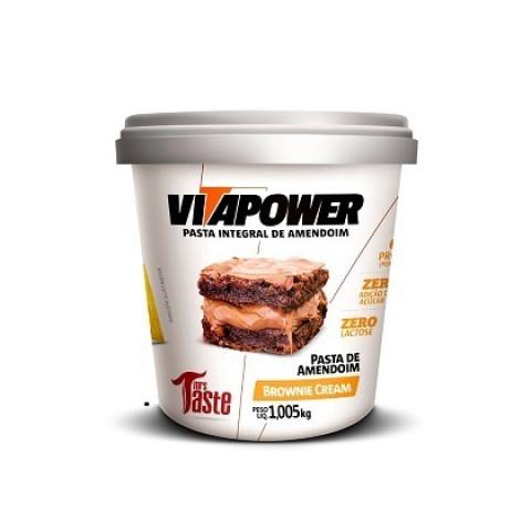 Pasta de Amendoim 1,005 - Brownie - VITAPOWER