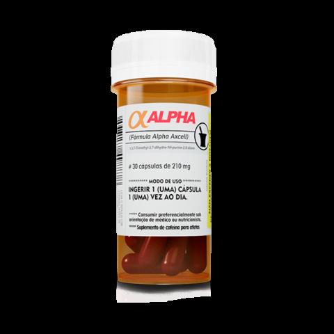 Cafeína Alpha Excell- 30 Cáps - POWER SUPPLEMENTS