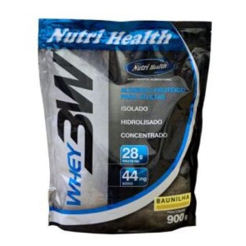 Whey 3W - 900gr Refil - NUTRI HEALTH
