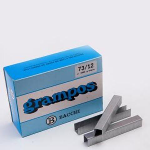 GRAMPO RAPID 73/12 GALVANIZADO C/ 3800 UN. (BACCHI)