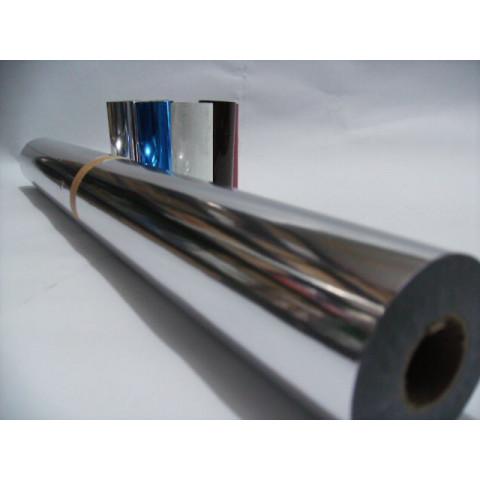 Fita Para Hot - Stamping Prata 751 rolo com 5 cm de largura.