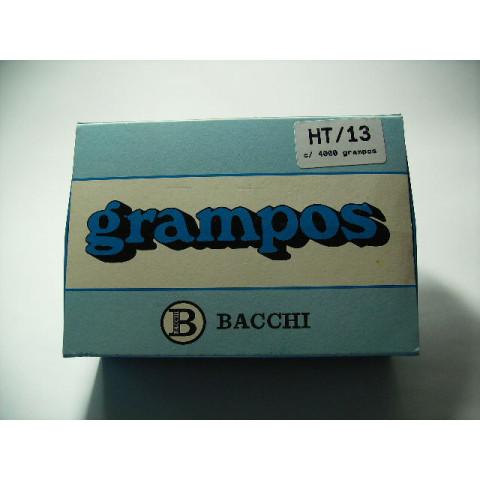 GRAMPO HT 13 GALVANIZADO C/ 4000 UN. (BACCHI)