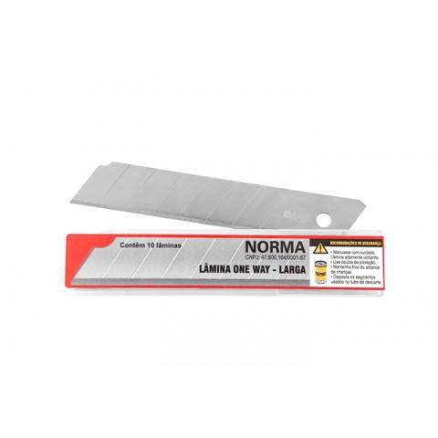 Lamina Norma One Way Tubos C/10 UN