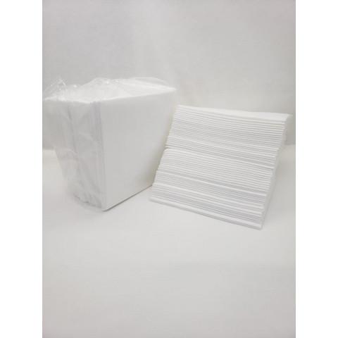 Toalha Multiuso 50g Med. 29,00 x 30,00 CM WTE 050 SB4 - Branco / Pacote com 50 Toalhas