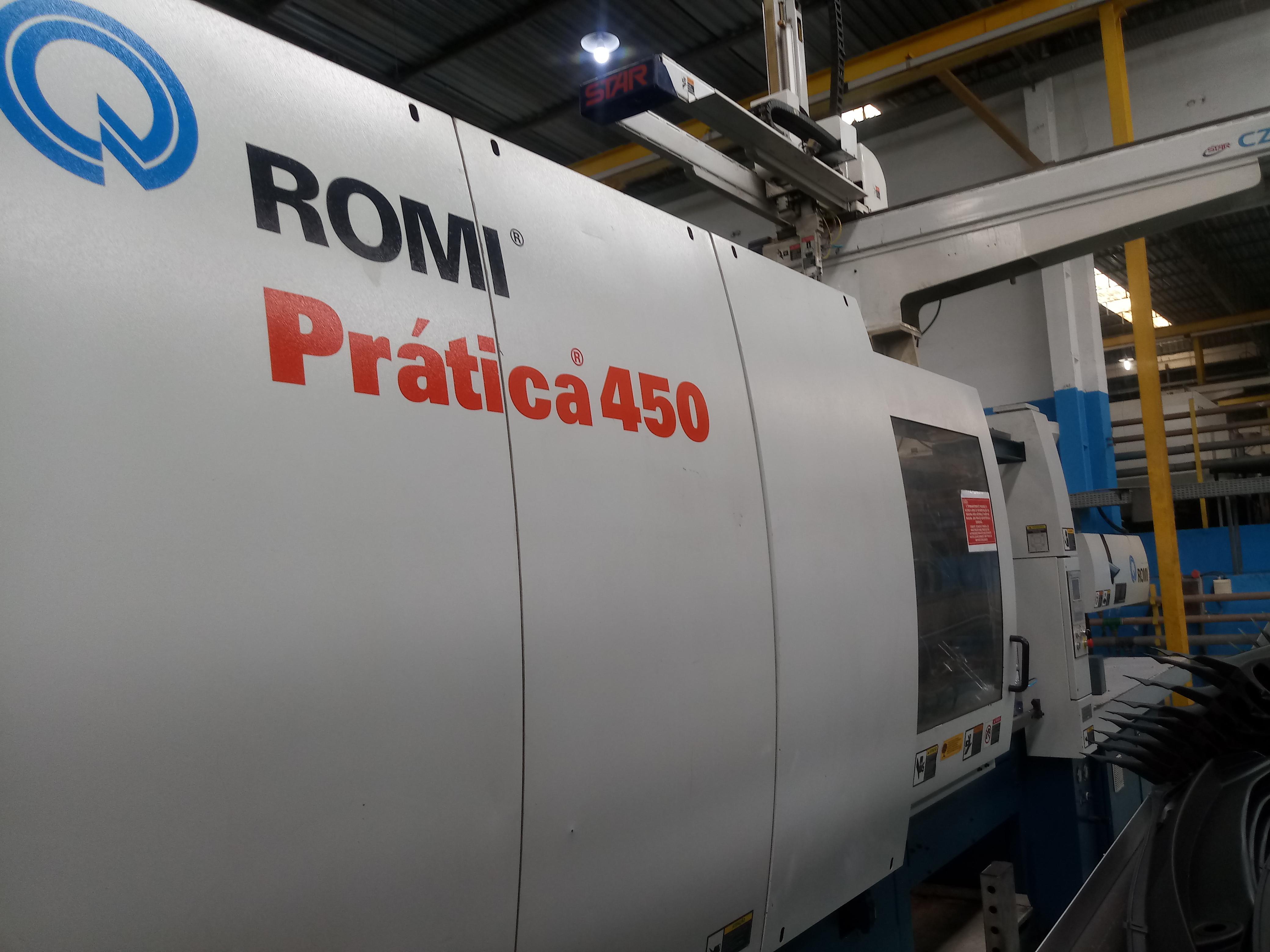 Romi 450 c/ robô