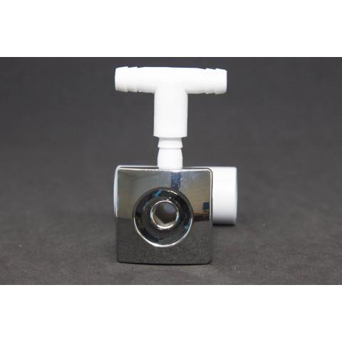 Mini jato quadrado PVC transversal anel1 cromo