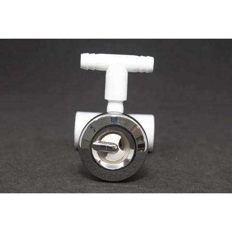 Mini jato rotativo PVC transversal anel1 cromo