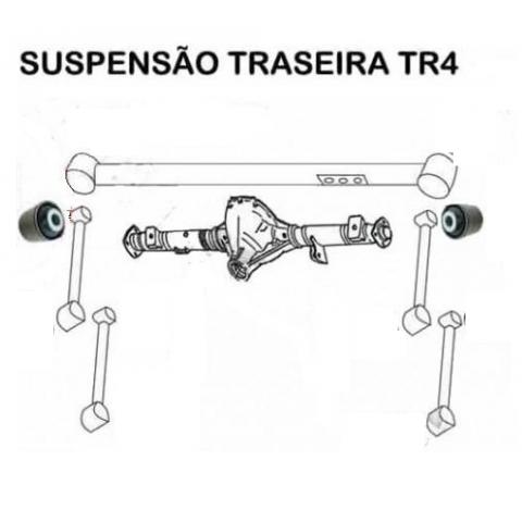 Bucha Tensor Traseiro Sup (Ferro Menor) Pajero TR4/IO