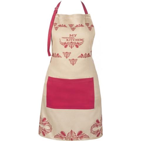 Avental Female Tradicional Kitchen - Copa & Cia