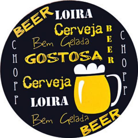Porta-Copos Royal Cork Beer - Copa & Cia