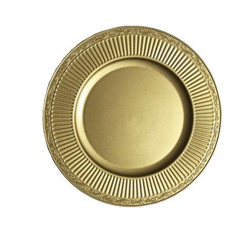 Sousplat Colonial Circular Dourado