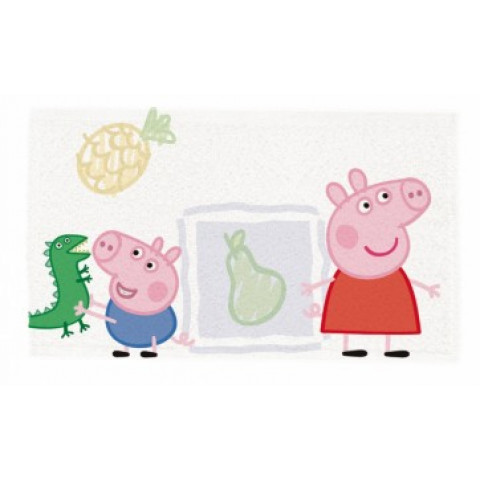 Toalha de Lancheira Estampada Peppa Pig - Lepper