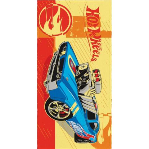 Toalha Felpuda Estampada  Hot Wheels - Lepper