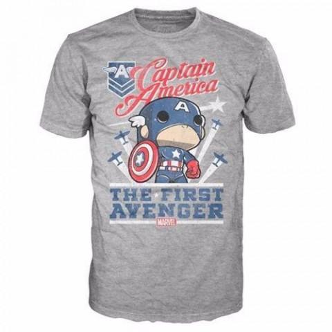 Camiseta Pop Tees MARVEL  Captain America #72 L