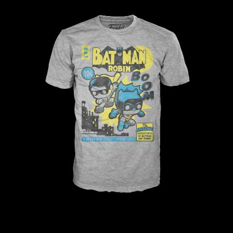 Camiseta Pop Tees Super Heroes Batman & Robin S