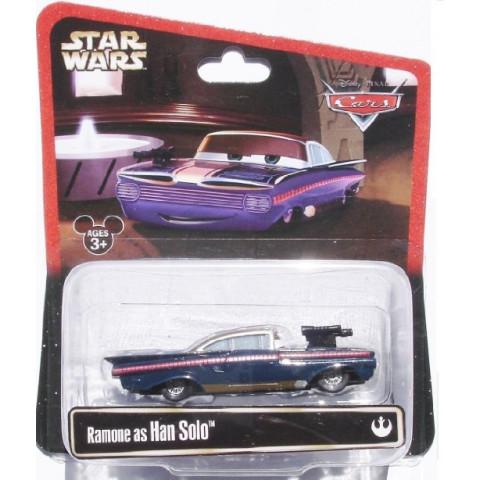 Disney Cars Ramone as Han Solo Star Wars 1:55 Mattel Case SW