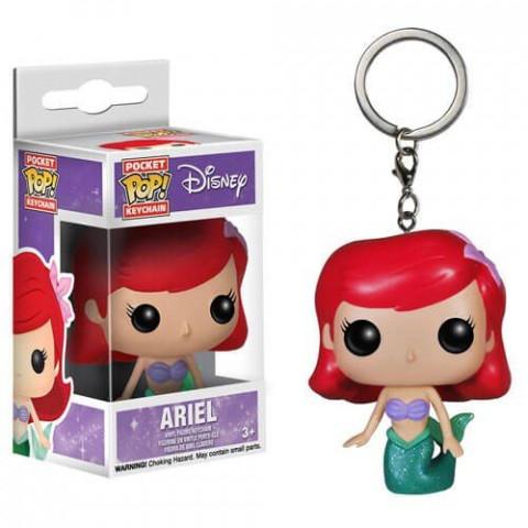 Disney Chaveiro Pocket Pop! Keychain Ariel Funko