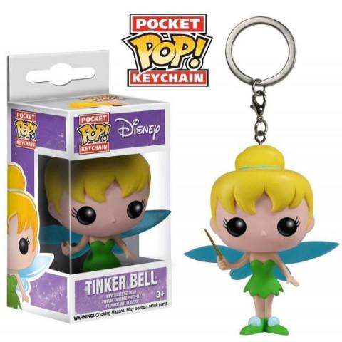 Disney Chaveiro Pocket Pop! Keychain Tinker Bell (Sininho) Funko