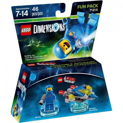 Lego Dimensions Fun  Pack Benny/Benny's Spaceship 71214 - 46 Peças