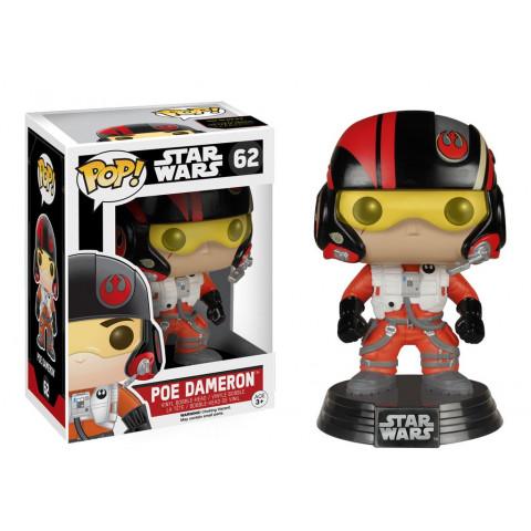 Poe Dameron (Piloto) Vinyl Bobble-Head Pop! Star Wars #62 Funko