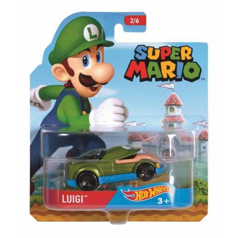 Super Mario Hot Wheels - Luigi