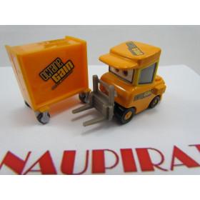 Disney Cars Dudley Spare com Caixa de Ferramentas Octane Gain Pit Stop Piston Cup Loose #61 1:55 Mattel