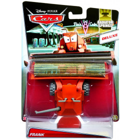 Disney Cars Frank The Tractor TRator Colheitadeira Deluxe Radiator Springs 1:55 Mattel