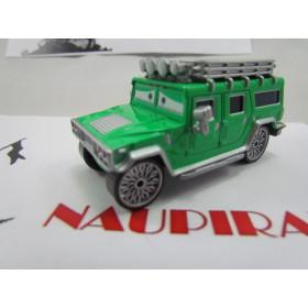 Disney Cars T.J. Hummer Loose #43 1:55 Mattel