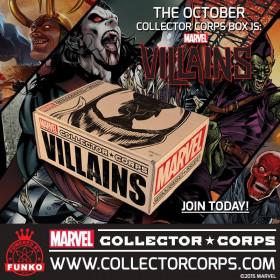 Pop! Funko Marvel Collectors Villains Box